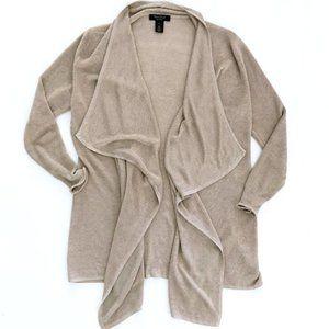 WHITE HOUSE BLACK MARKET Long Duster Sweater SP